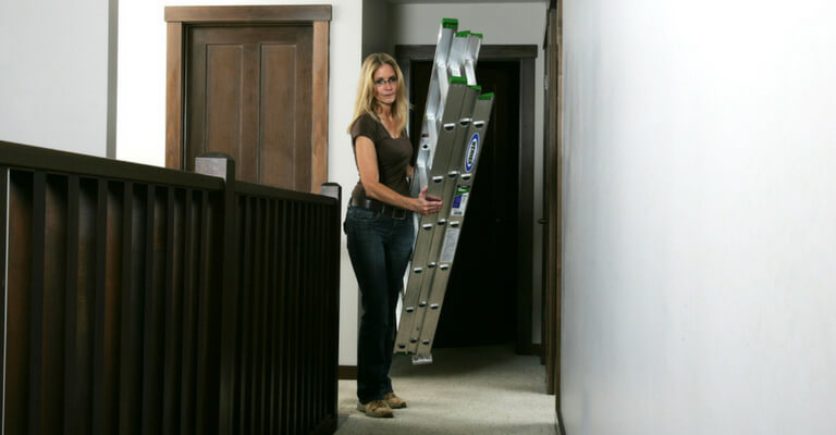 Werner Innovation - Compact Extension Ladders