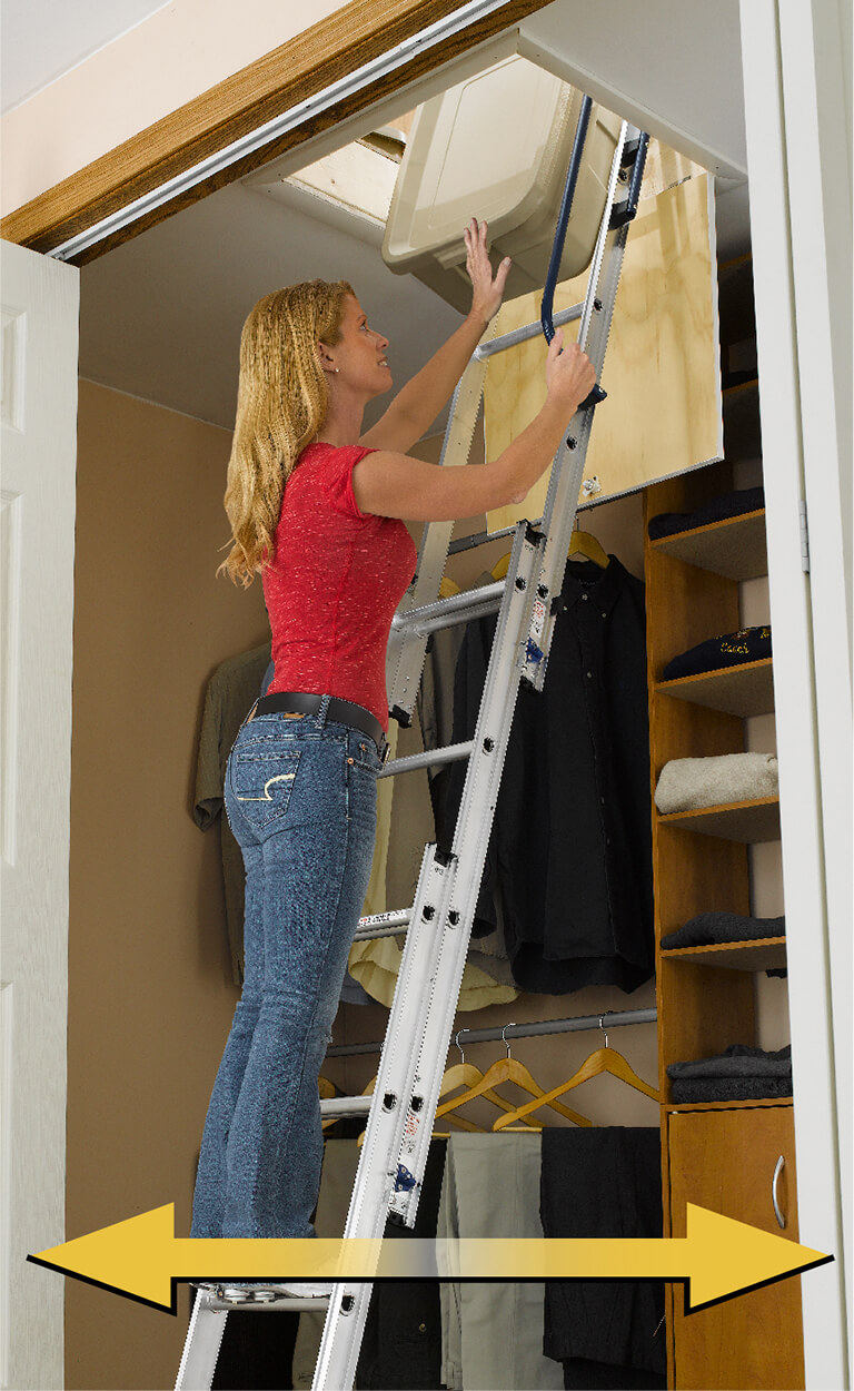 How to choose a Werner attic ladder - Landing Space