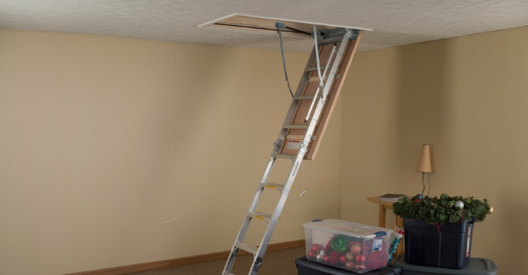 Werner Aluminum Attic Ladder Installation Video