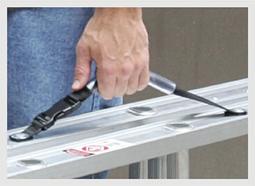 Werner Compact Extension Ladder Carrying Handle