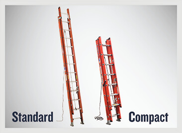 Werner Compact Extension Ladder Comparison