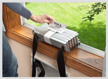 The Werner Fire Escape Ladder deploys in seconds