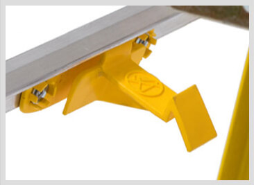 Werner LEANSAFE Ladder Secure Rail Latch