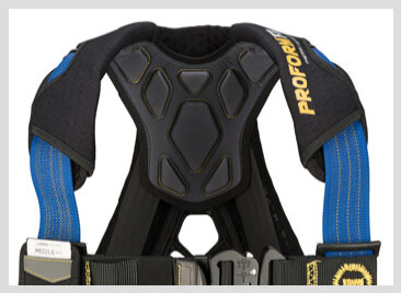 The Werner ProForm F3 Fall Protection Harness provides maximum function