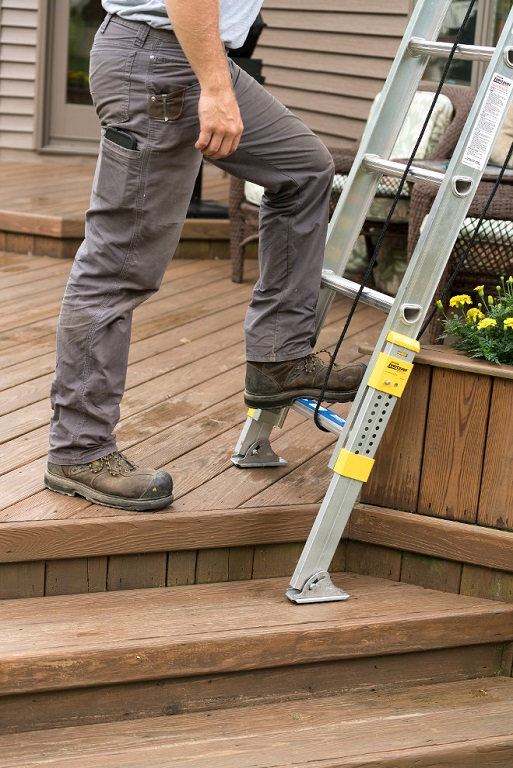 Werner Equalizer Leveling Extension Ladder