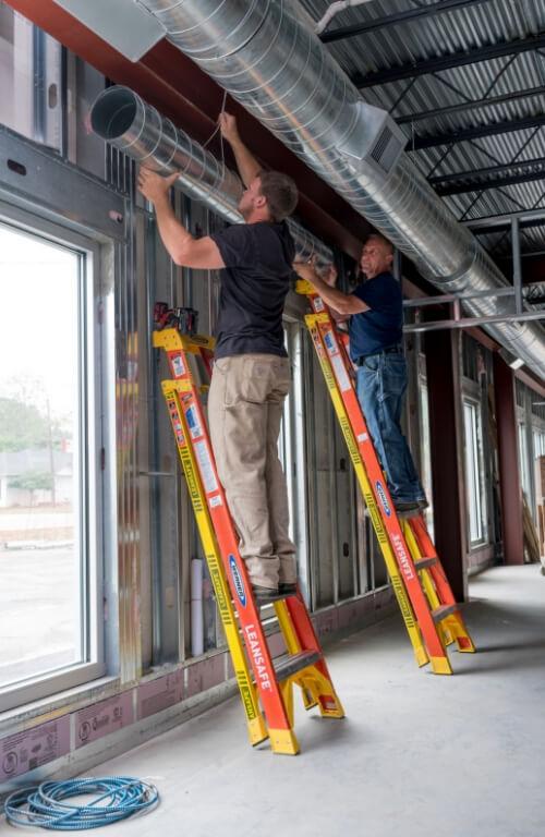 Werner LEANSAFE Leaning Ladder