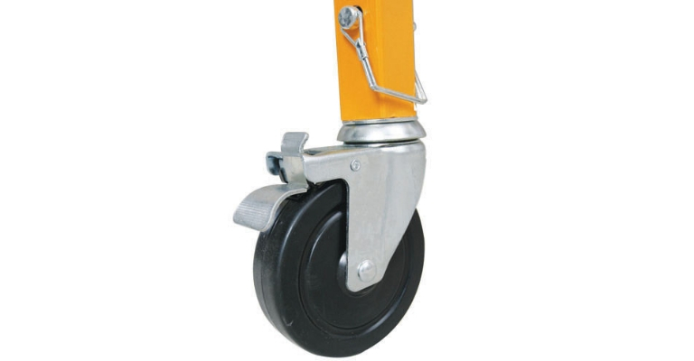 Werner Steel-Rolling Scaffold swivel locking casters