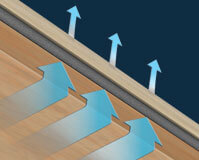 Werner Energy Seal Attic Ladder insulation airflow
