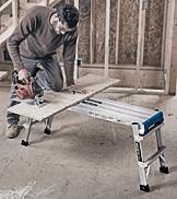 Werner Pro Work Platform work bench