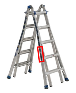 Ladder Label Location