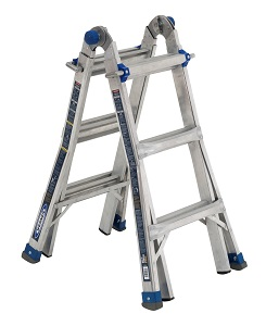 Werner MT-IAA-13A Multi-Purpose Telescoping Aluminum Ladder