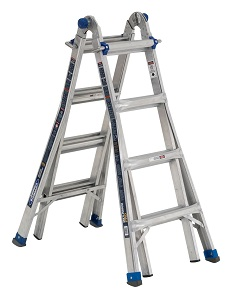 Werner MT-IAA-17A Multi-Purpose Telescoping Aluminum Ladder