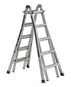 Werner MT-IAA-22A Multi-Purpose Telescoping Aluminum Ladder