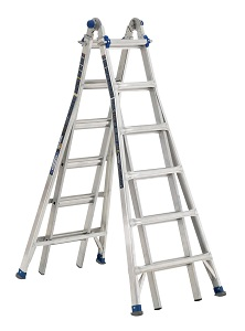 Werner MT-IAA-26A Multi-Purpose Telescoping Aluminum Ladder
