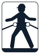 Werner Positioning Class P Fall Protection Harness