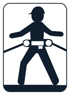 Werner Retrieval Class P Construction Fall Protection Harness