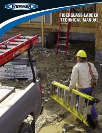 Werner Fibreglass Ladder Technical Manual