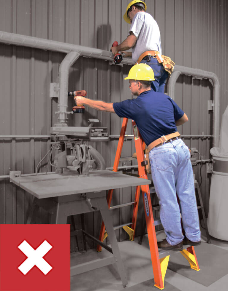 Werner Ladder Safety: Do Not Exceed Load Capacity