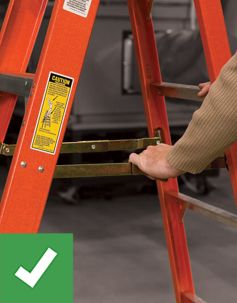 Werner Ladder Safety: Set Up Properly