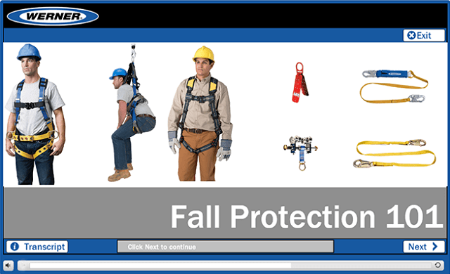 Werner Online Training: Fall Protection 101