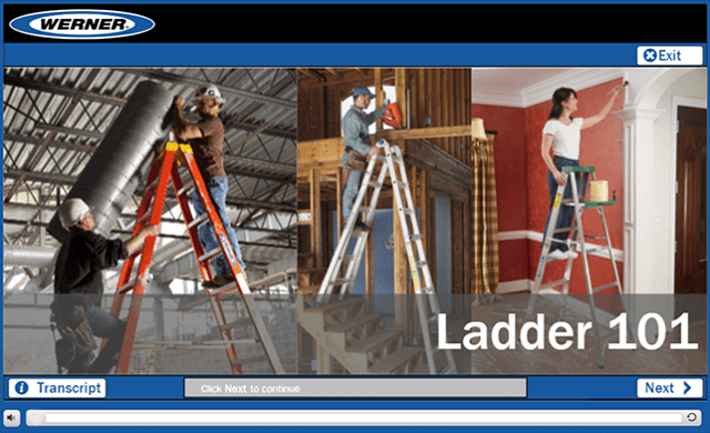Werner Online Training: Ladder 101