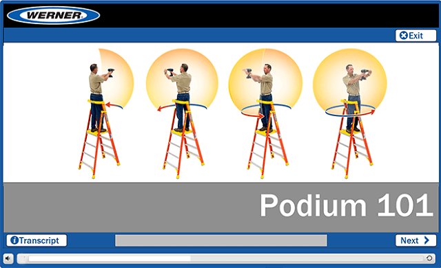 Werner Online Training: Podium Ladder 101