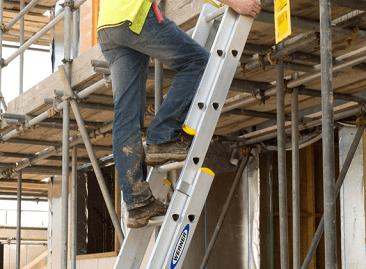Werner Extension Ladder Box Section Stiles
