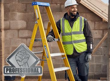 Werner Fibreglass Ladder Durability Tested