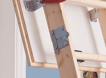 Werner Hideaway Timber Loft Ladder Insulated Trapdoor