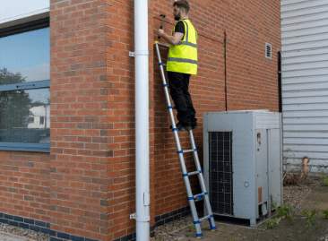 Werner Telescopic Soft Close Extension Ladders - Maximum Safety