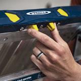 Werner Adjustable PRO Work Platform - Single Handed Lock and Height Adjustment