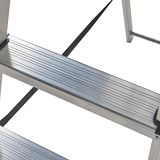 Werner UK Aluminium Step Ladders