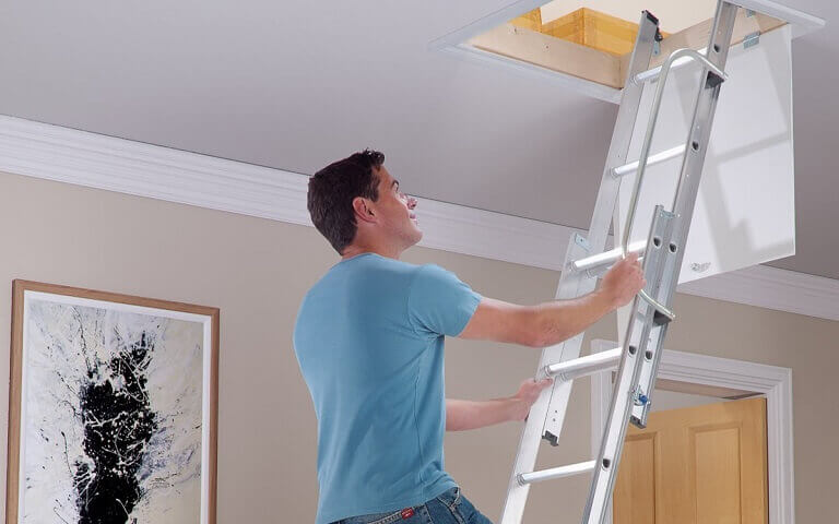 Gain access to the loft with a Werner loft ladder