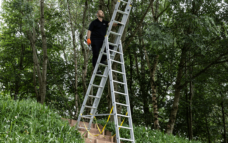 Werner Multi-purpose Ladder - One ladder for all jobs