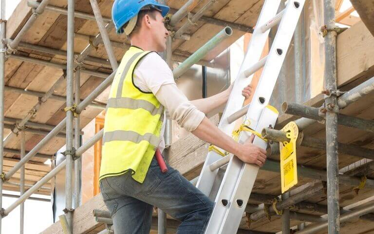 Reach greater heights with a Werner extension ladder