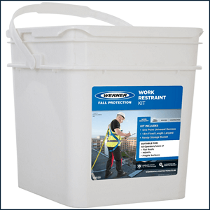 Werner EU Fall Protection Work Restraint Kit Waterproof Storage Bucket