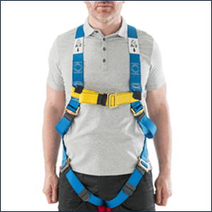 Werner Fall Protection Two Point Harness