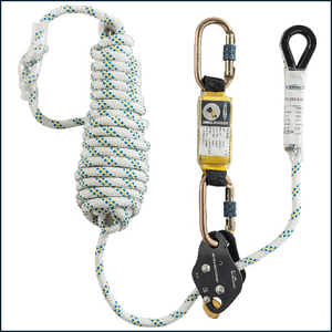 Werner Professional Roof Workers Kit 10m Rope Lifeline