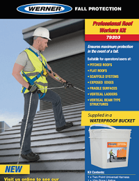 Werner SellSheet Professional Roof Workers Kit 79203