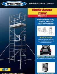 Werner Mobile Access Tower Sellsheet