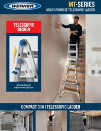 Werner MT Series Multi-Purpose Telescopic Ladder Sellsheet